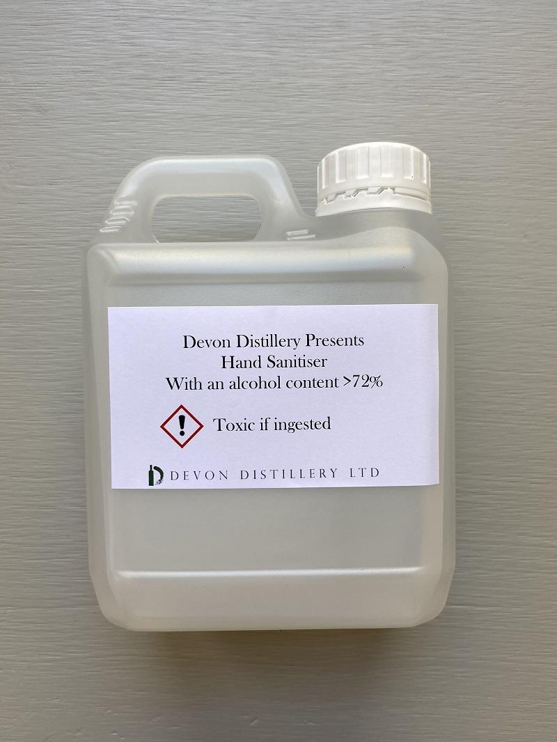 Devon Distillery Hand Sanitiser